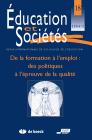 Numéro 18 Education et sociétés