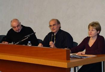 Yves Clot lors du séminaire sur le travail enseignant